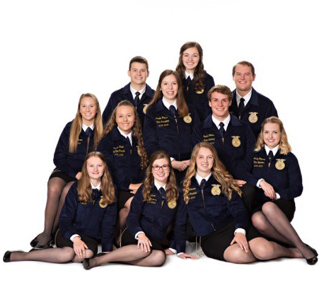 WI State FFA Officers